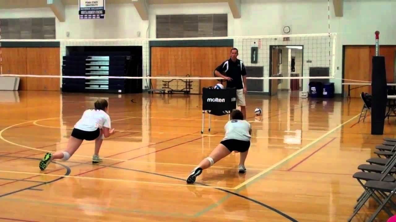 Psu Libero Training Roll Progressions Volleyball Drills Coaching Volleyball Volleyball Skills