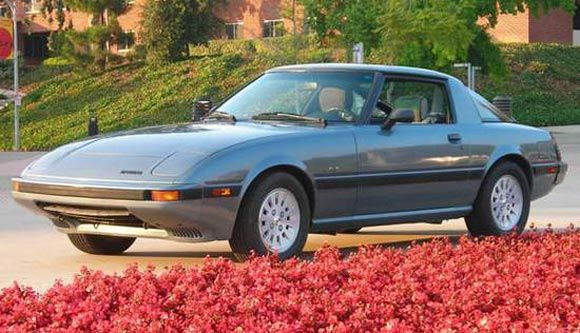 Auction Of The Day Mint 1984 Mazda Rx 7 Gsl Se For A Good Cause