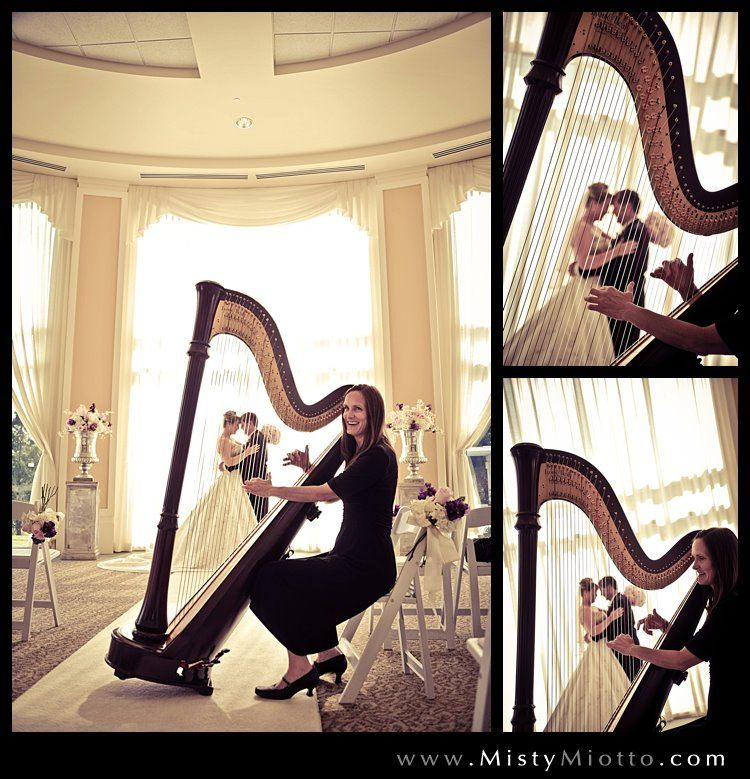 harp orlando mary lake ceremony christine bride events center acoustic weddings venues father daughter florida miotto harpist macphail misty after