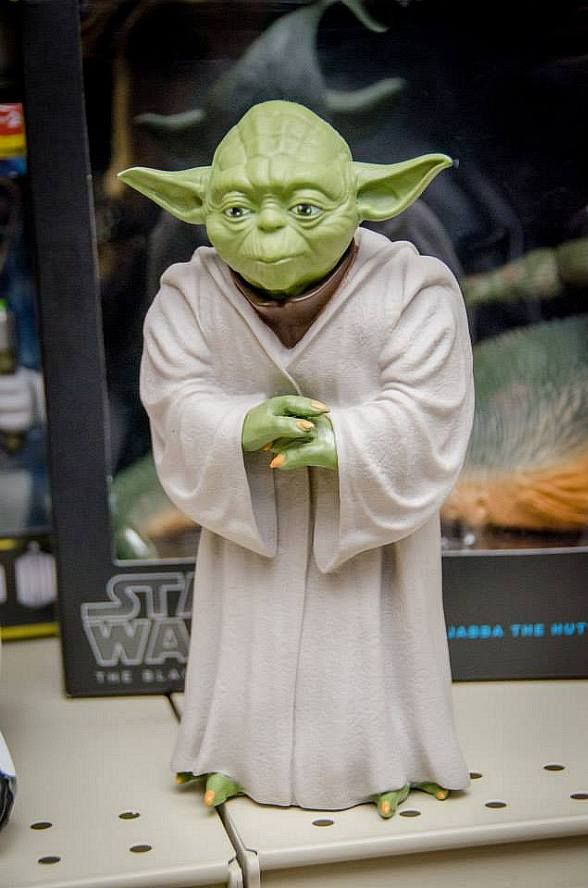 The Toy Box, an unordinary retail store featuring an eclectic array of toys, board games, action figures, pop culture collectibles and more, recently held a grand opening and ribbon cutting ceremony for their new store in the heart of Downtown Summerlin (Pictured: Yoda of Star Wars).