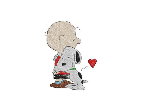 Check out this item in my Etsy shop https://www.etsy.com/listing/243987596/snoopy-and-charlie-brown-embroidery