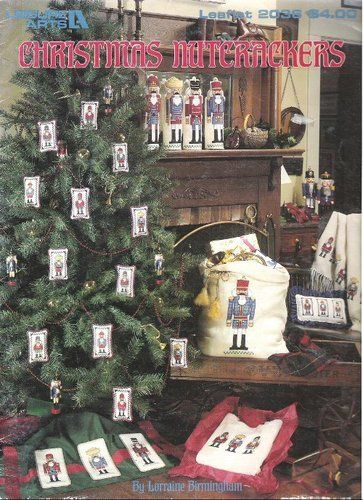 Christmas Nutcrackers Cross Stitch Leisure Arts Leaflet 2036 Lorraine Birmingham Amazon Com Books Nutcracker Christmas Leisure Arts Christmas