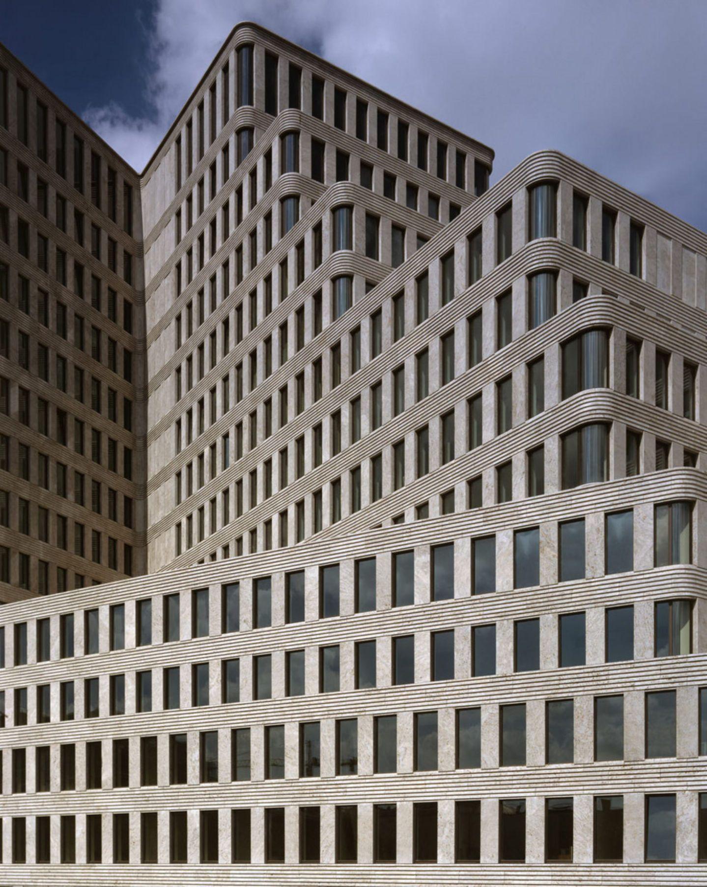 Kleihues Kleihues Jan Kleihues Stefan Muller Hotel Concorde Divisare 地板