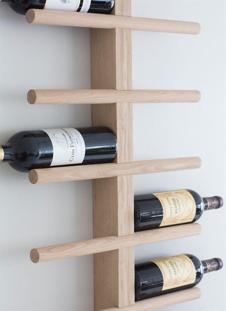 14 Diy Wine Racks Made Of Wood Wijnrek Muur Wijnrek Houten