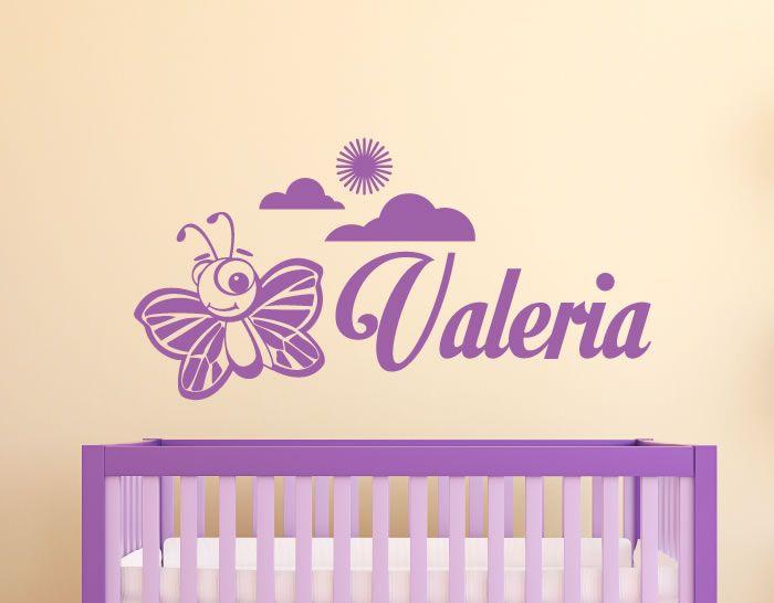Colección de vinilos decorativos con nombre personalizado Vinilos
