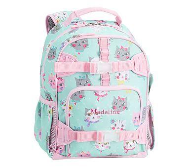 abb16d4e22a7 Mackenzie Aqua Pink Princess Kitty Backpacks