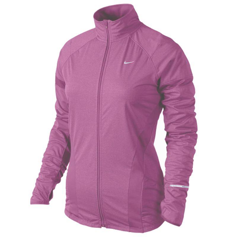 Nike jack Element Shield paars dames bij