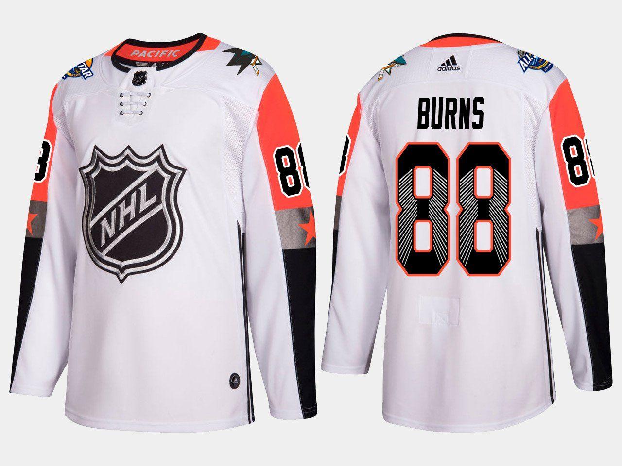 pretty nice 5b05e ec644 2018 NHL All Star Pacific Division Premier Adidas Jerseys ...