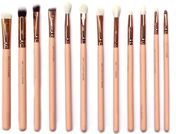 Zoeva 12 pieces Rose Golden Complete Eye Set Eyeshadow Eyeliner Blending Pencil…