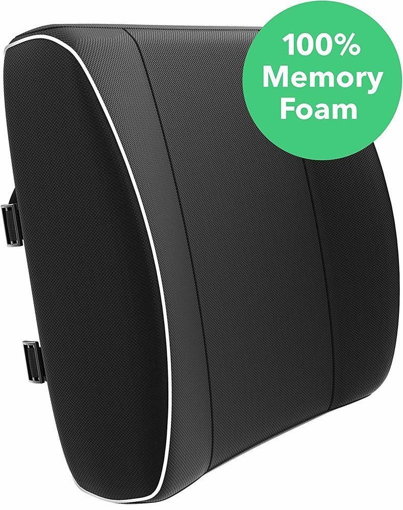 Lower Back Support For Chair Sayl Task Cushion Car Pain Foam Lumbar Pillow Goodtipsforbackpain