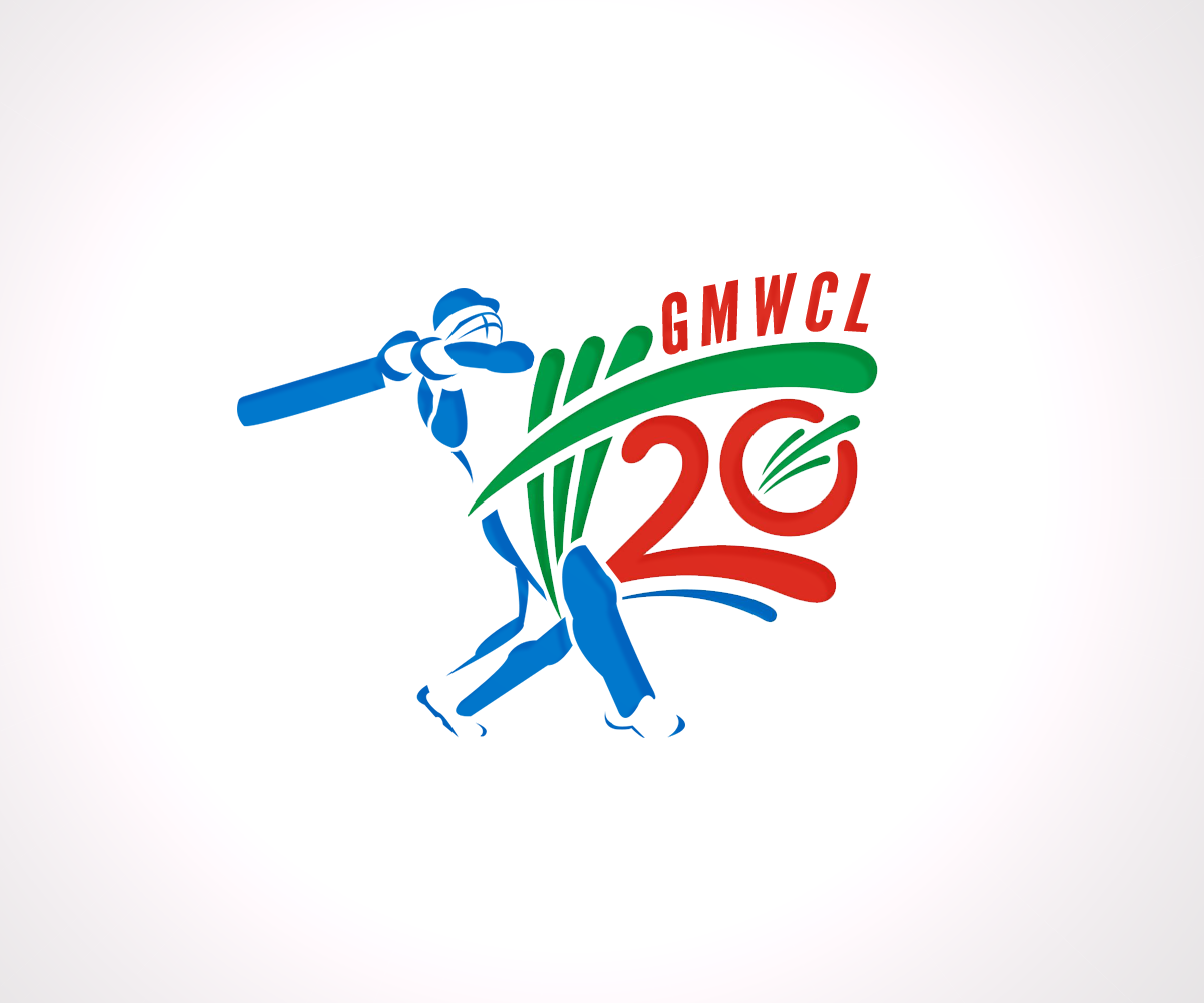 logo design by dezign rabbit for cricket league cricket