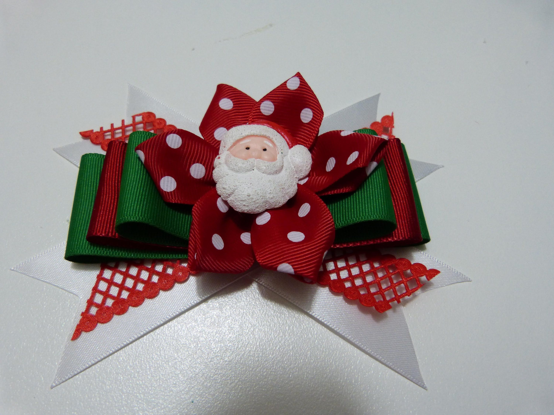 como hacer un moo navidad para el cabello christmas hair accessories