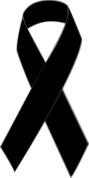 clip art of a black awareness ribbon clip art rh pinterest com purple awareness ribbon clipart free awareness ribbon clipart