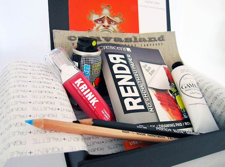 art subscription box monthly subscription box brands working with p p 31288