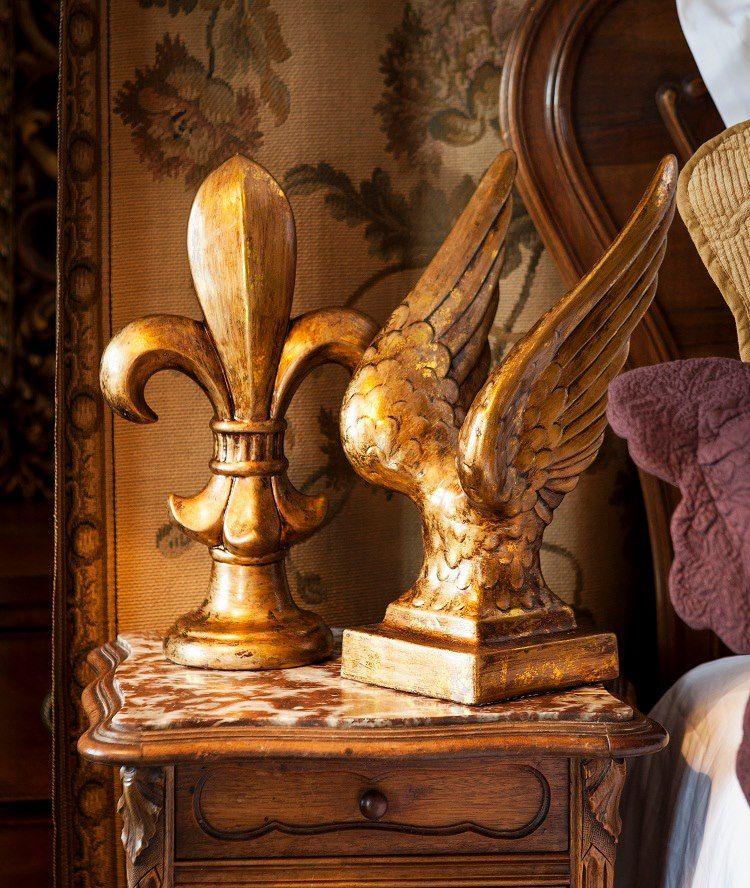 Mediterranean Kitchen Kirkland: Fleur De Lies Ornament And Wing And A Prayer Ornament