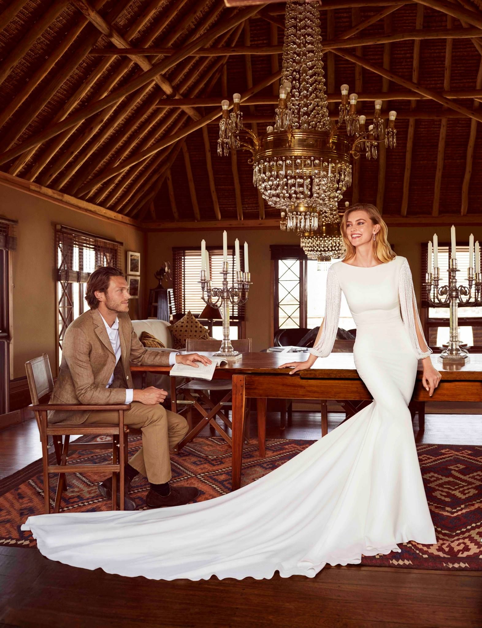"#Pronovias | 2018 Collections ""Wild Love in East Africa"" #Bridal"