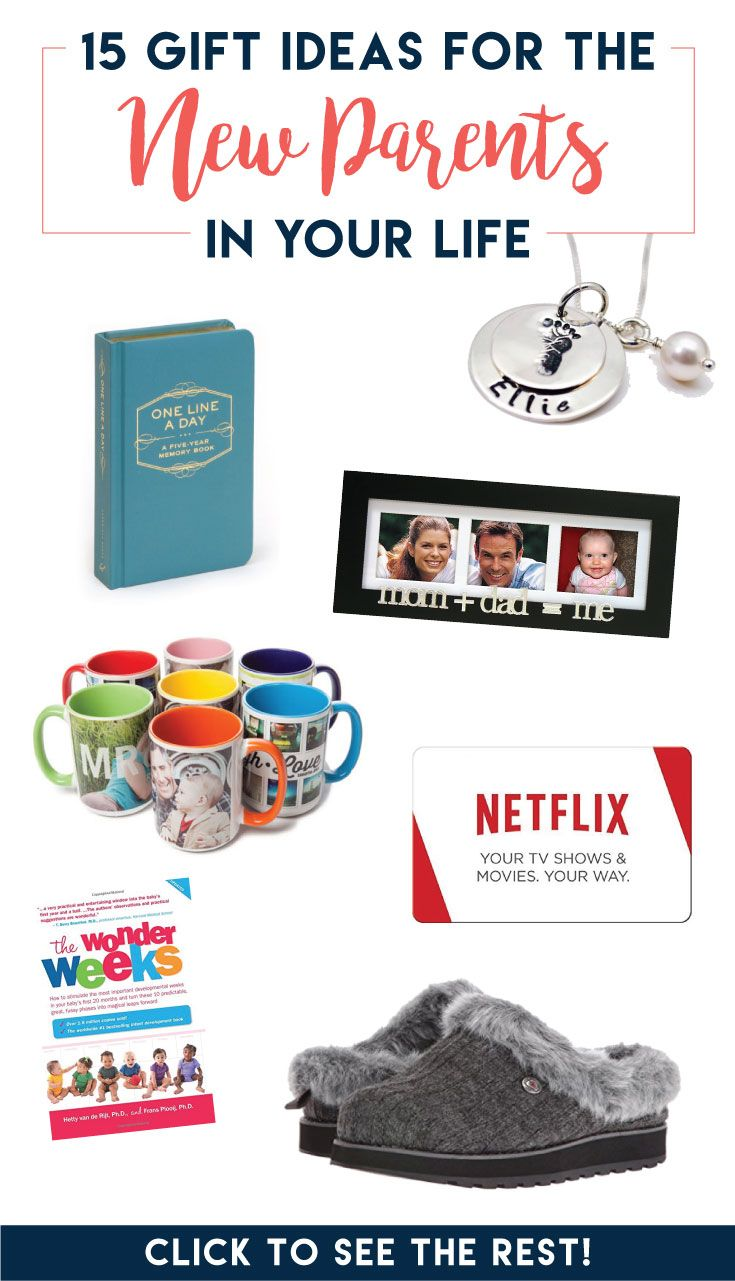 15 practical gift ideas for the new parent | a crafted passion