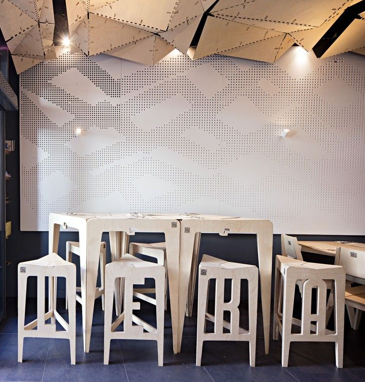 Leka Open Source Restaurant Iaac Fab Lab Barcelona Restaurant
