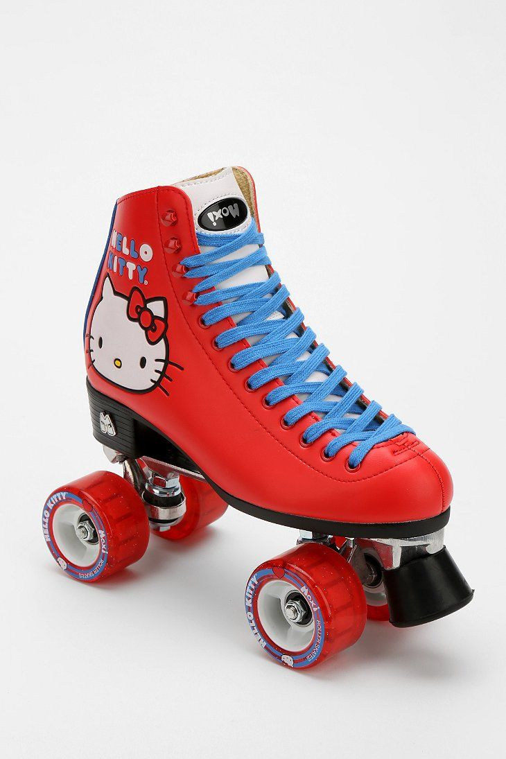 158d2e7a07 Hello Kitty Moxi Roller Skates Outdoors Red Retro Sports Wheels Rollerblades  Exercise Roller-rink urbanoutfitters.com