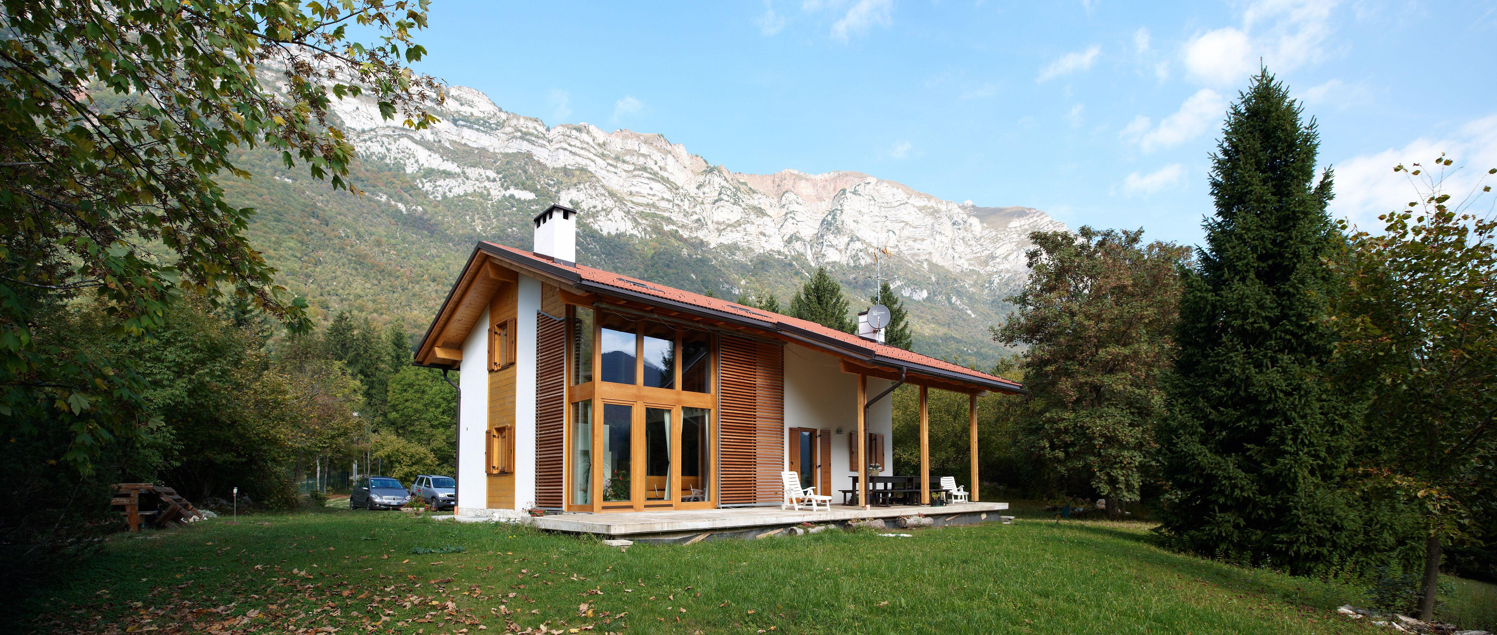 Casa prefabbricata in legno Rubner haus  Casa Residenz