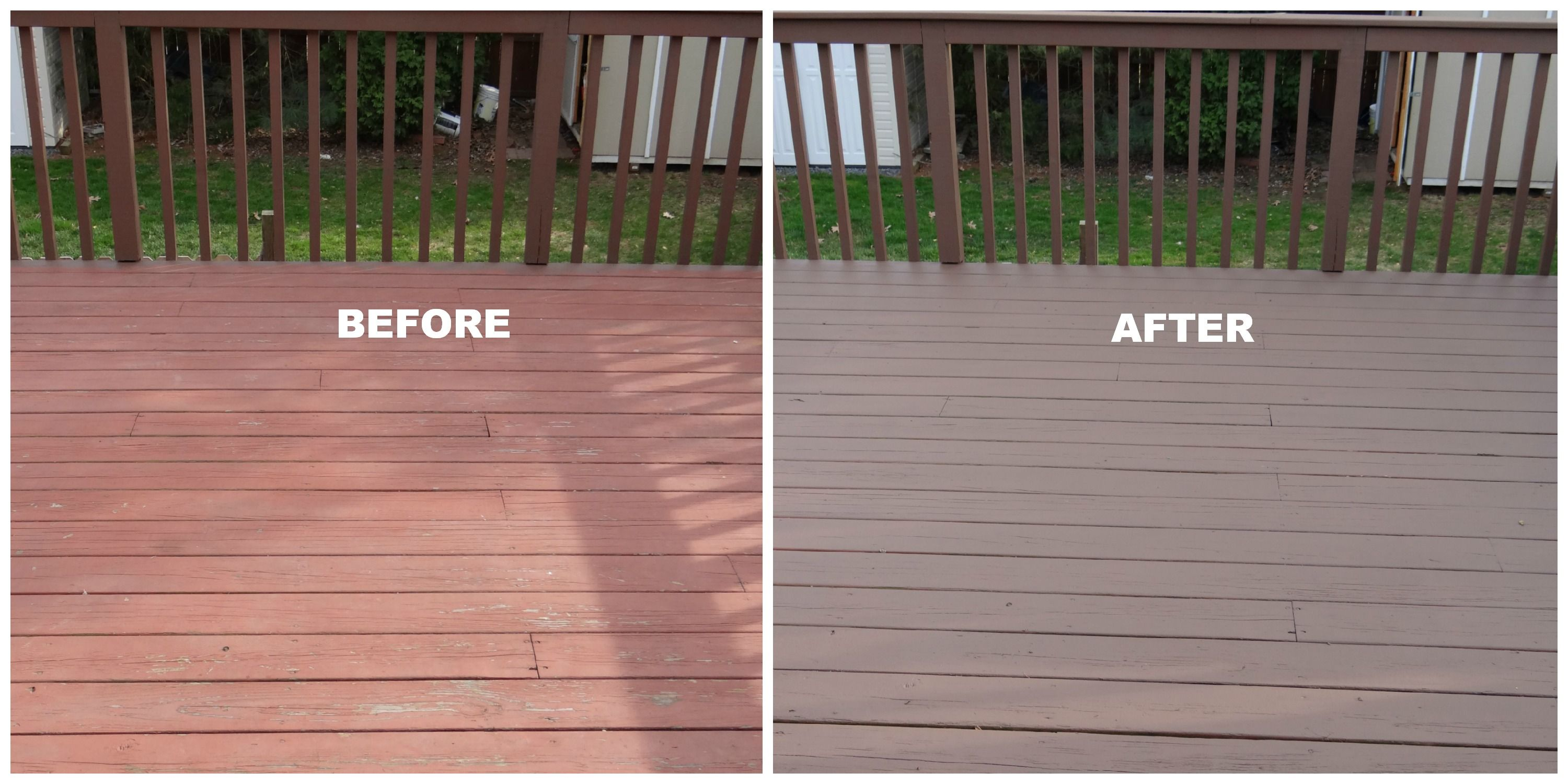 5 Things We Realize From Repainting Deck Beauteeful Living Deck Paint Reviews Painted Outdoor Decks Wood Deck Colors
