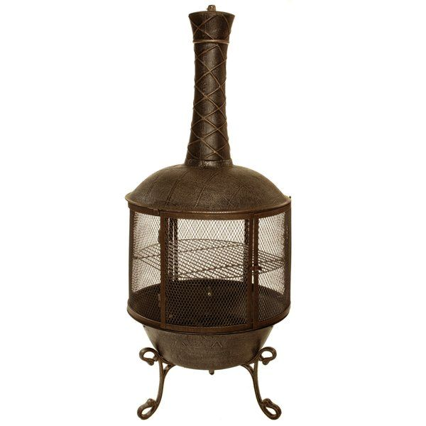 This Tower Feast Chimenea Fire Pit With 360 Degree View Is Perfect For Any Small Outd Gas Fire Pit Table Propane