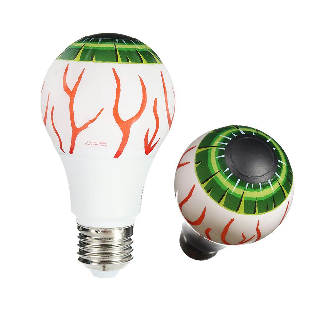 Green Eyeball Huevee Bulb Easy Halloween Decorations Holiday Lights