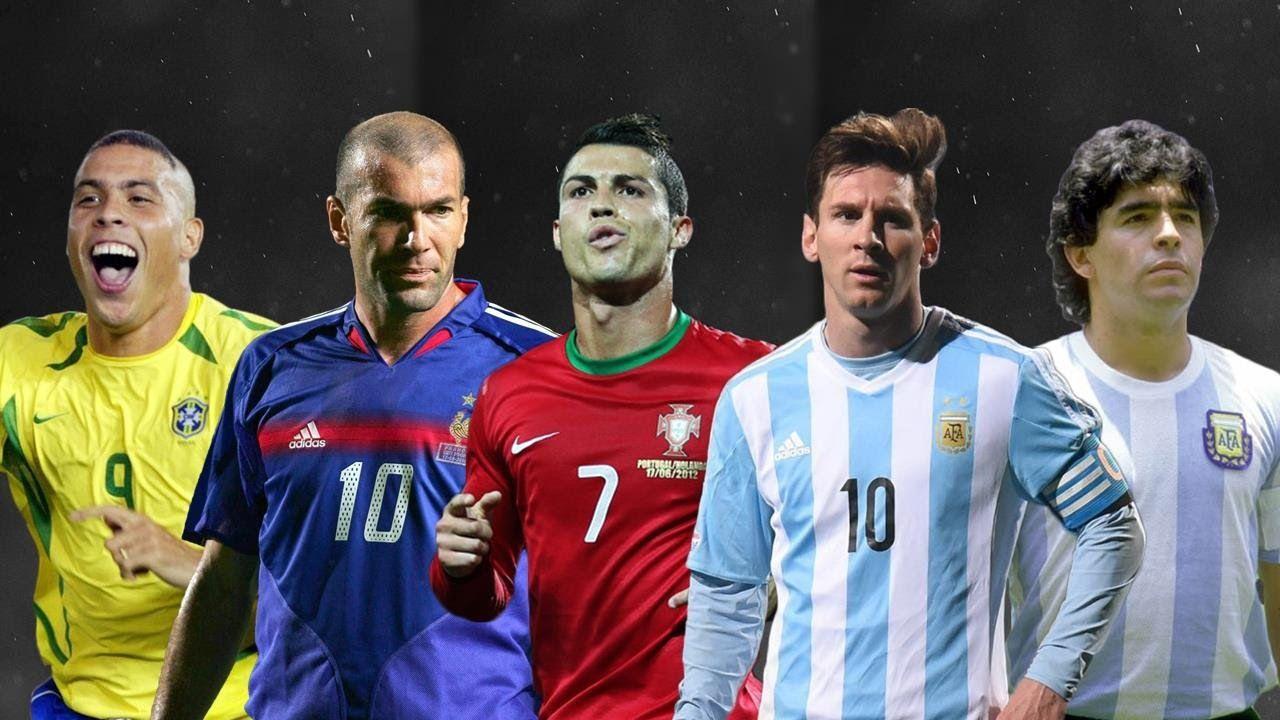 Best Player in Football History • Maradona • Messi • Zidane • Ronaldo • .
