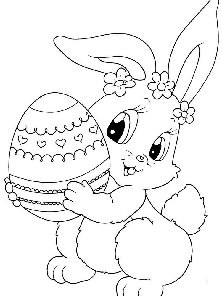 Easter Bunny Coloring Pages Free Below Is A Collection Of Easter Bunny Coloring Page Which Bunny Coloring Pages Easter Bunny Colouring Easter Printables Free