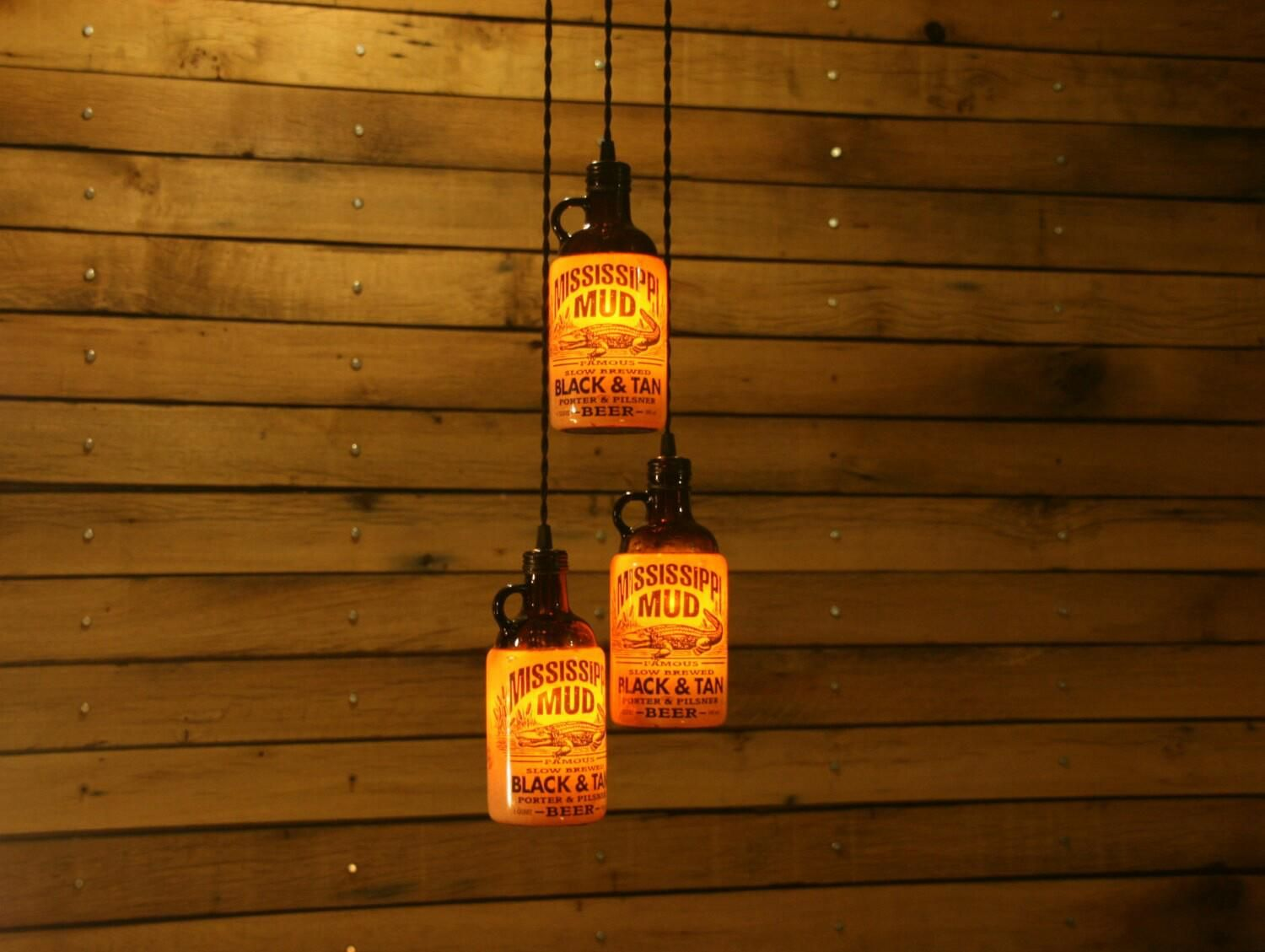 Mississippi mud lights beer room pinterest mississippi mud the ultimate beer bottle chandelier bar light bar room light fixture aloadofball Gallery