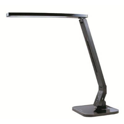 value led desk lamp has 1 hour shutoff setting