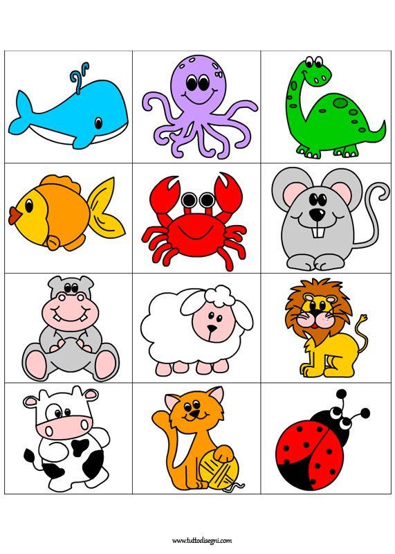 Preferenza Contrassegni con animali da stampare | animazione | Pinterest  BM16