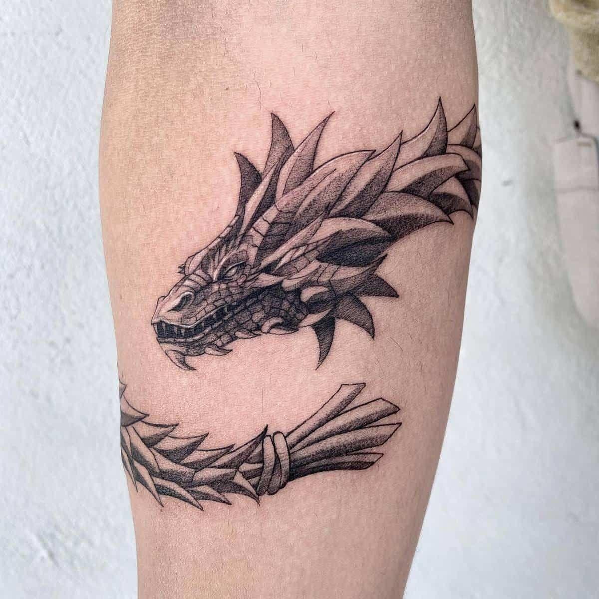 What Do Dragon Tattoos Symbolize? [2021 Inspiration Guide]