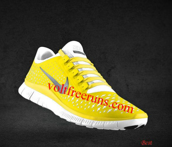 lowest price 6a69f c40f2 Cheapest Mens Nike Free 3.0 V4 Chrome Yellow Reflect Silver Platinum Chrome  Yellow Lace Shoes  Yellow  Womens  Sneakers
