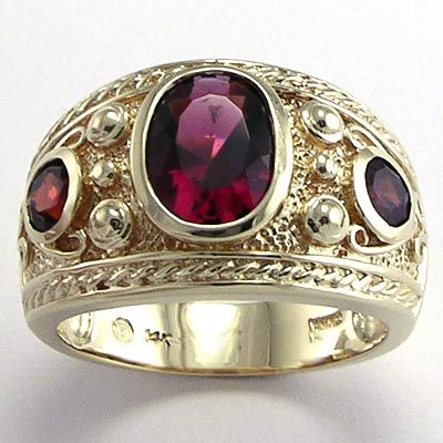 men 39 s garnet ring 14k gold garnet in 2019 mens garnet. Black Bedroom Furniture Sets. Home Design Ideas