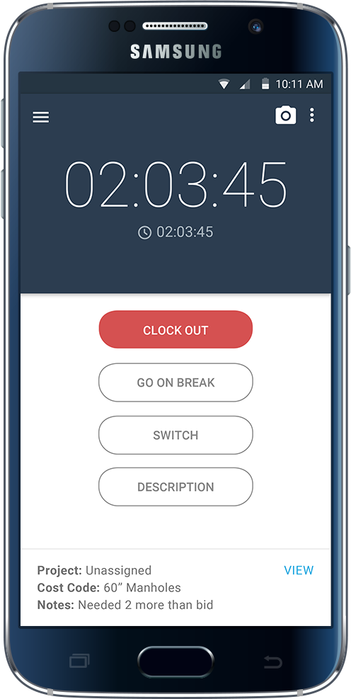 busybusy is an easy to use time tracker and online timesheet