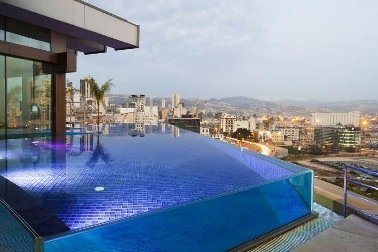 Piscinas de fibra de vidrio los 25 dise os m s modernos casas de playa pinterest - Cristales para piscinas ...