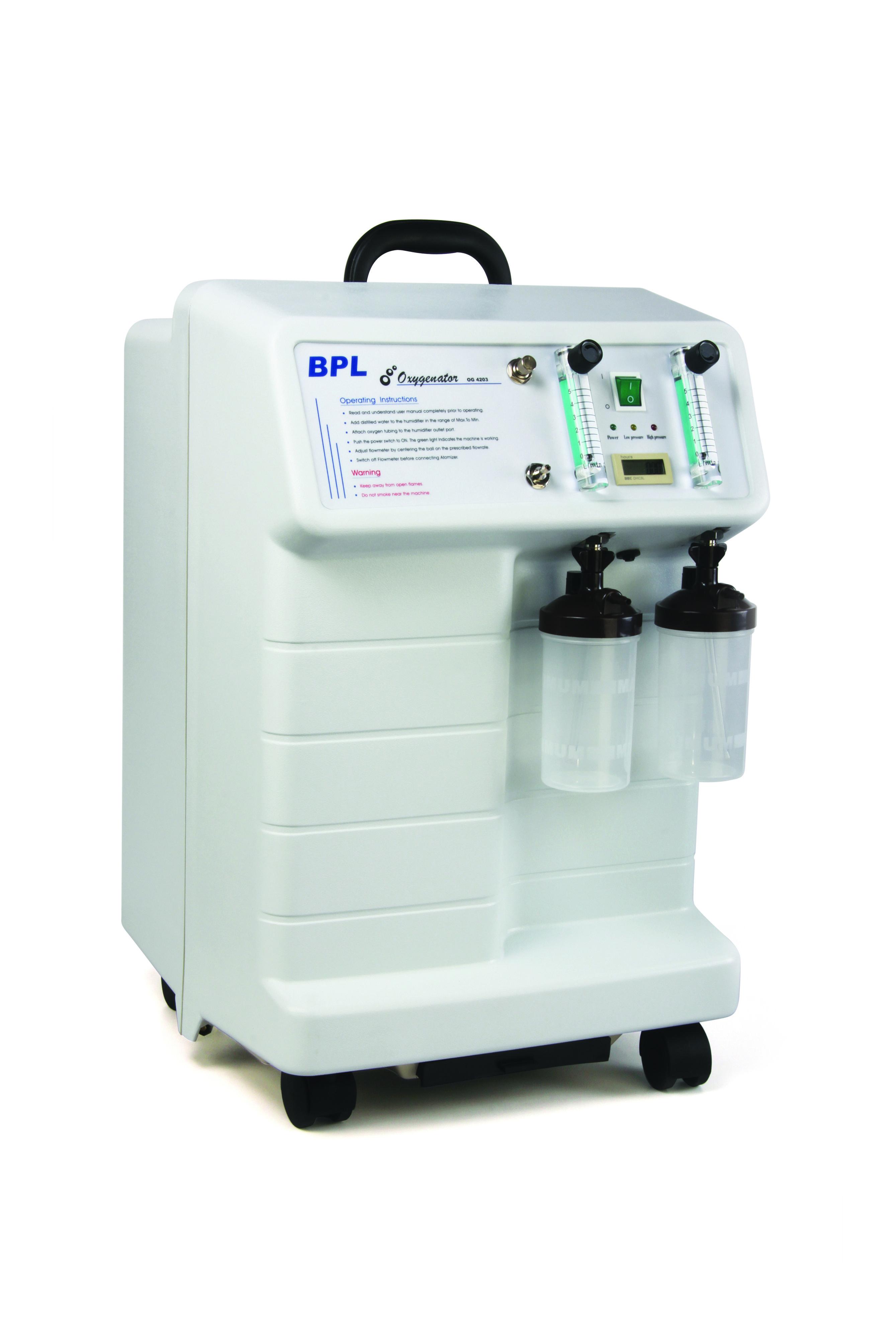 og 4203 an oxygen concentrator from bpl mefdical technologies