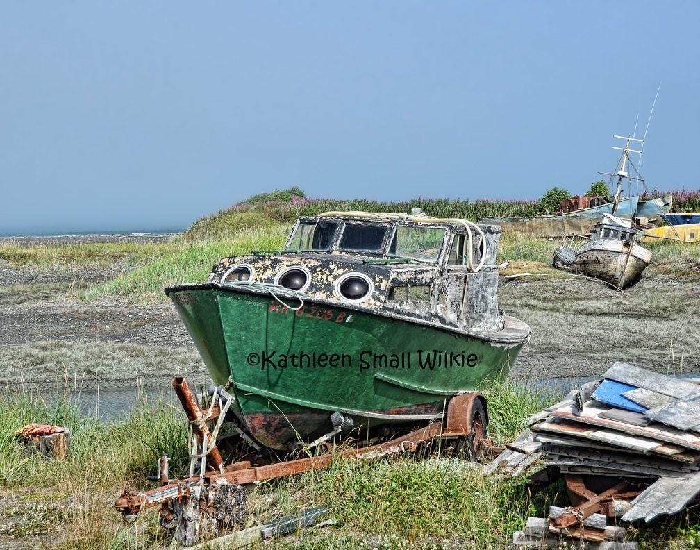 Old Boatwooden boatboat graveyardabandoned old boatboat | Etsy