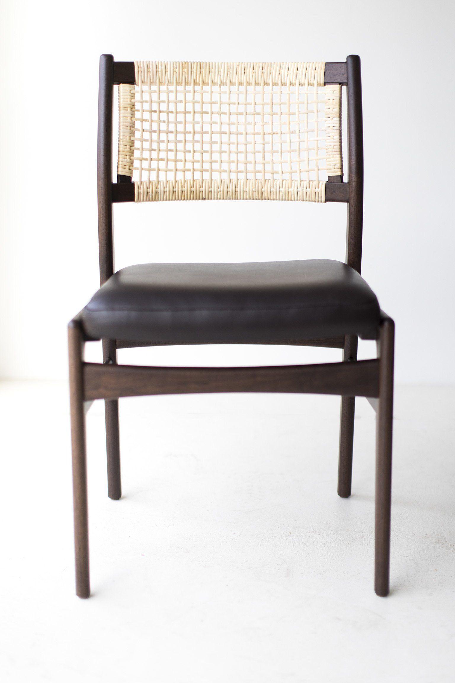 Kachura Dining Chair Modern Indoor Teak Wood Dining Chairs