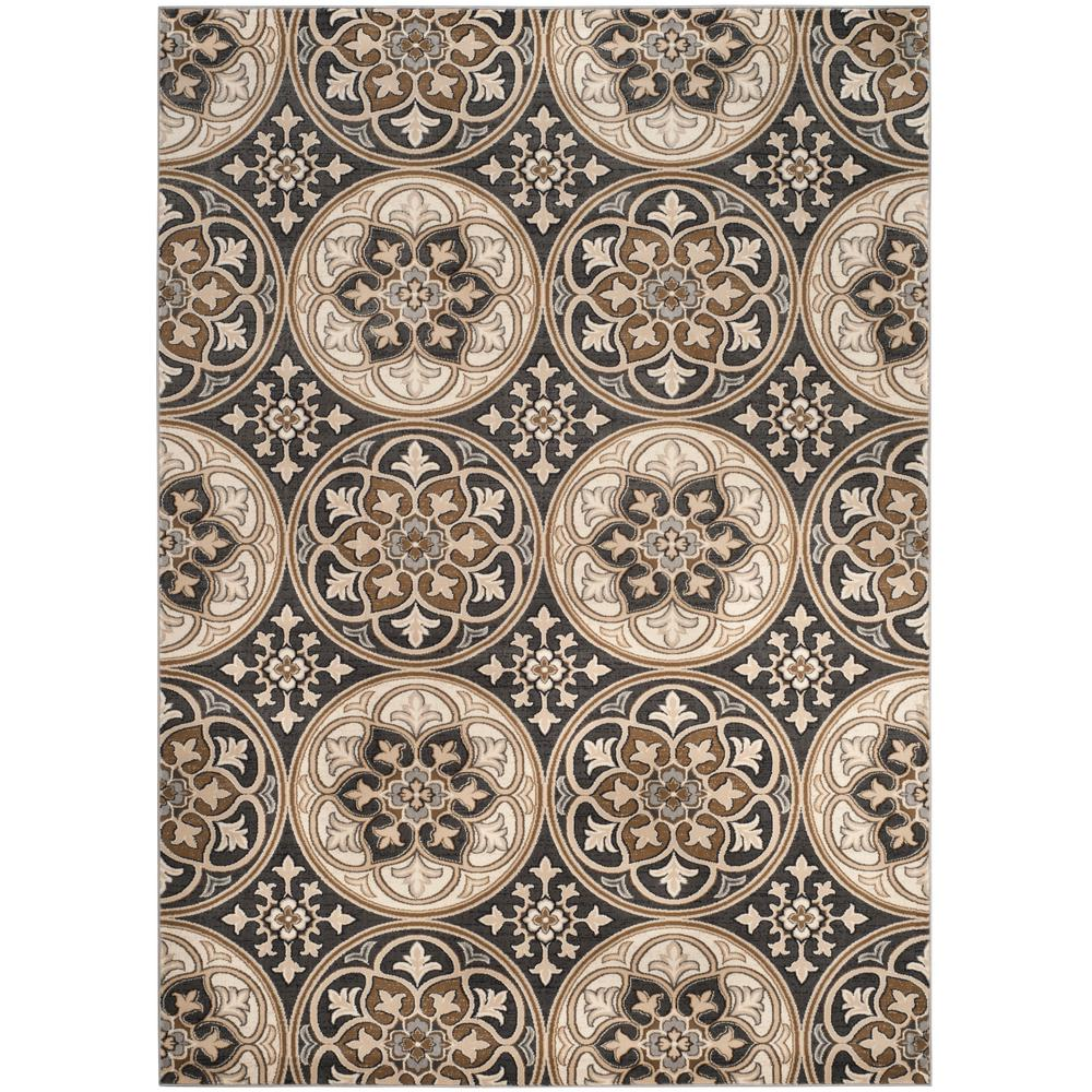 Safavieh Lyndhurst Light Gray Beige 9 Ft X 12 Ft Area Rug Lnh341b 9 Beige Area Rugs Area Rugs Rugs