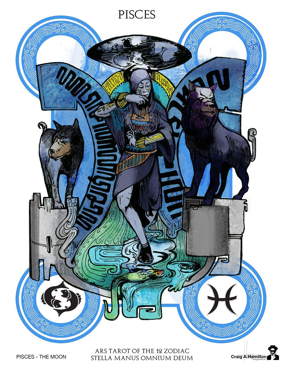 Ars zorot tarot of the 12 zodiac on behance 12 zodiac