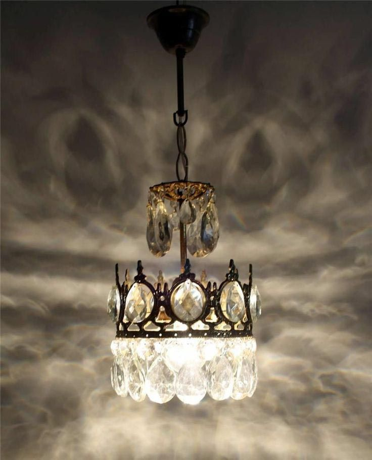 Antique Brass Mini Chandelier | Chandeliers | Pinterest | Mini ...