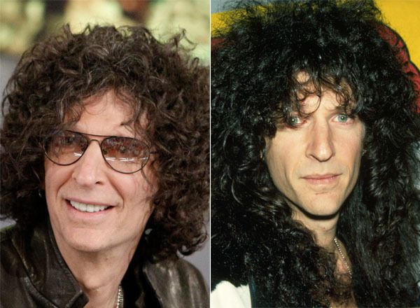 Howard Stern Left Is The After Photo Plastic Surgery Plastic Surgery Celebrity Plastic Surgery Rhinoplasty Cost