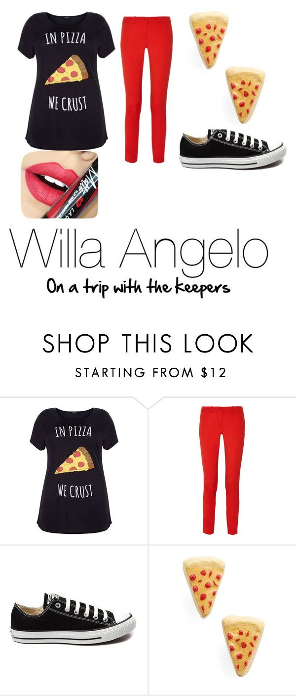 """""""Willa on a trip with the keepees"""" by askshank on Polyvore featuring beauty, Michael Kors, Converse, Venessa Arizaga and Fiebiger"""