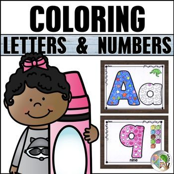 Alphabet and Numbers Coloring Pages   Alphabet coloring ...