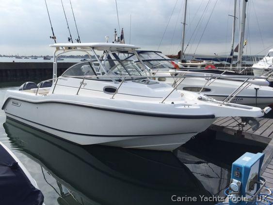Boston Whaler 255 Conquest For Sale In Poole Boatshop24 Boston
