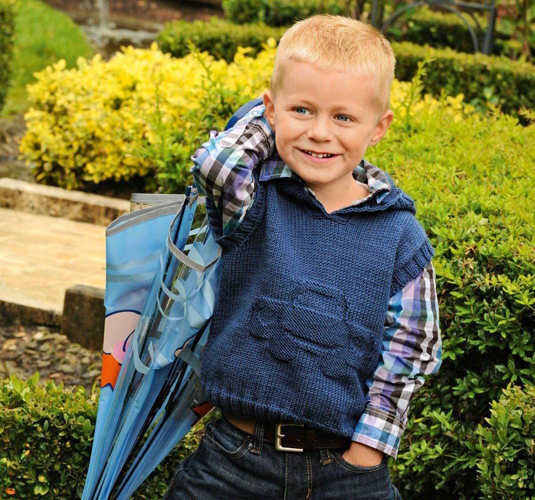 вязание жилетки для мальчика 1 2 лет схема зеленая