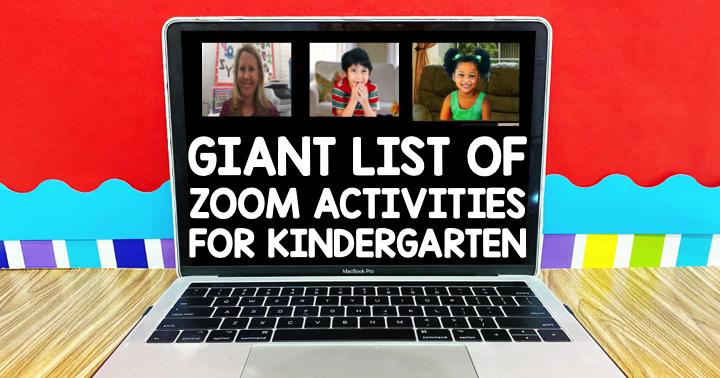 Pin on Zoom activities