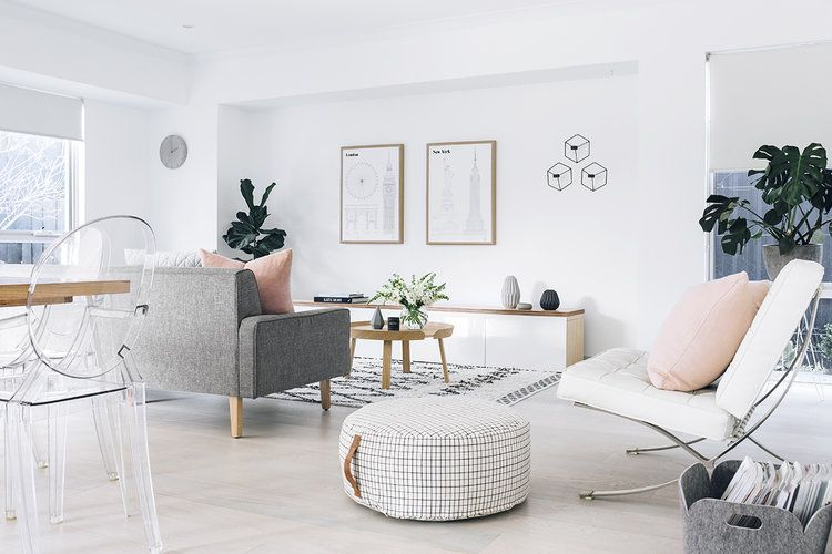 Nordic Fusion Home Living Room Without Tv House And Home Magazine Home Decor